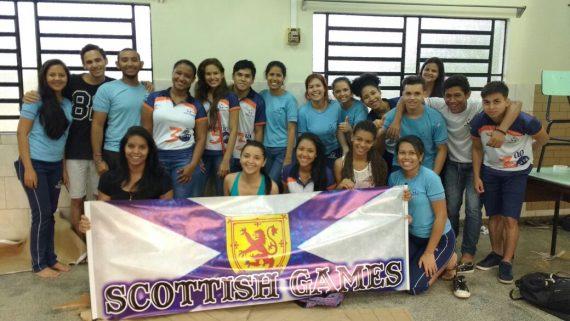 Feira dos países ingleses foi organizada pelos estudantes do Ensino Médio