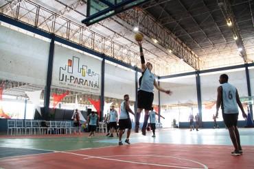 As disputas no basquete ainda seguem em Ji-Paraná