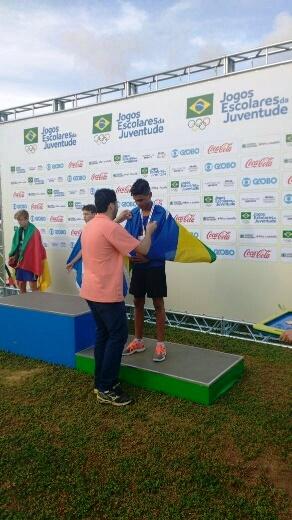 A lição que o medalhista Guilherme diz levar para casa é a de que vale a pena dedicar ao esporte