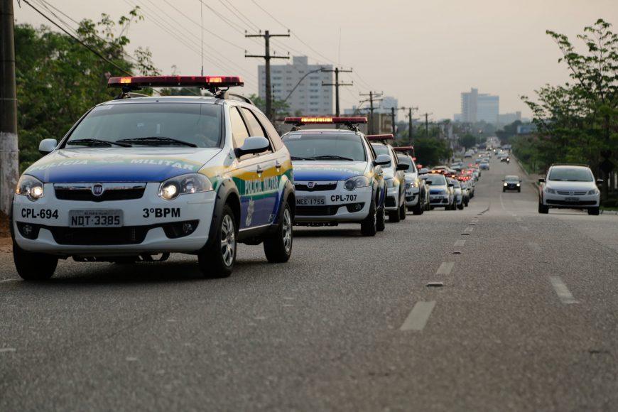 Os 300 novos veículos vão atender as polícias Militar, Civil e Técnica