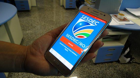 Aplicativo SesdecRo já instalado no celular