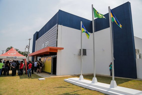 Sede da Unisp em Nova Brasilândia foi inaugurada na sexta-feira, 14