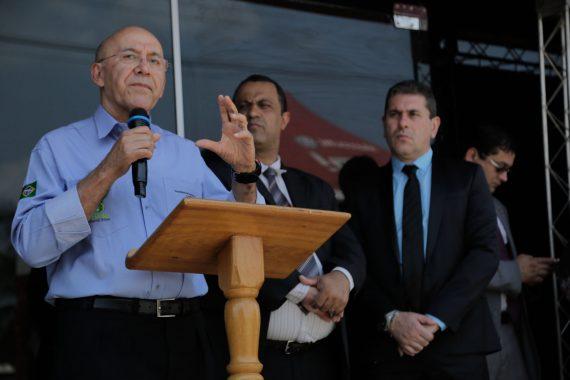 Governador Confúcio Moura inaugurou a Unisp