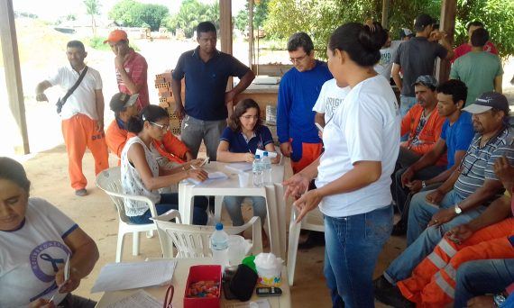 Servidores do DER em Ariquemes participam de atividades de prevenção a acidentes