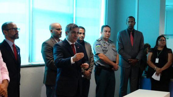 O novo secretário de Segurança Pública do estado, cel Lioberto Caetano é o primeiro bombeiro militar a assumir esta pasta em todo o País