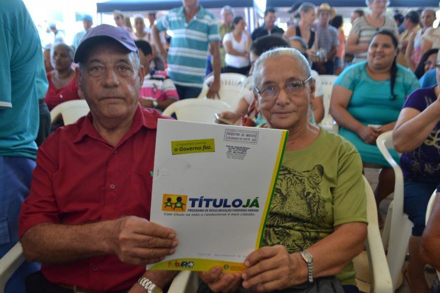 Em 2016 o Governo de Rondônia entregou 1370 títulos, e tem mais 49 mil em andamento para entrega