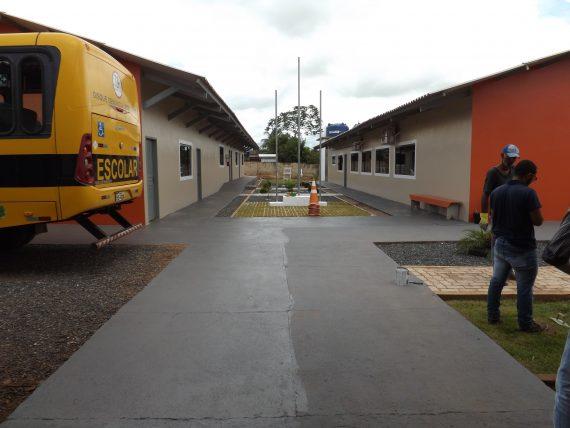 Escola Monteiro Lobato foi reformada e ampliada