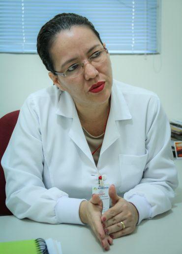 Carola Hurtado, gerente técnica da Fundação de Hematologia e Hemoterapia de Rondônia