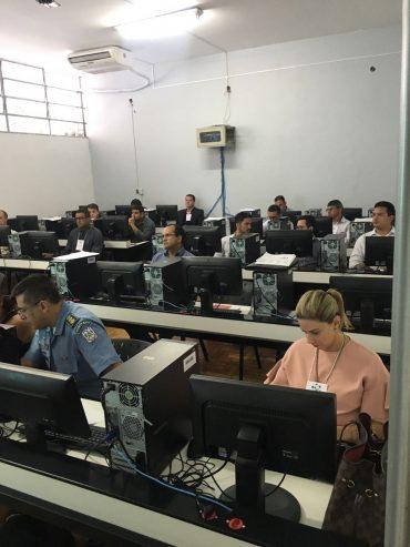 Treinamento foi realizado na Academia de Polícia Militar de Minas Gerais