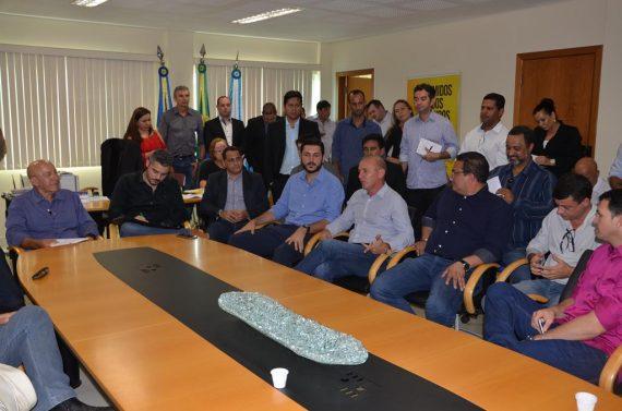 Governador Confúcio Moura fez um lançamento das obras nessa segunda-feira, em Ariquemes