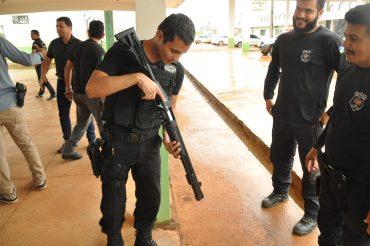 Os novos armamentos serão entregues a todas as unidade prisionais do estado