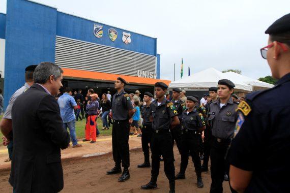 Secretário Caetano disse na inauguração que o combate à violência começa com a integração