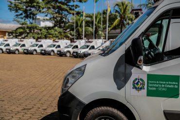 Ambulâncias foram entregues a municípios