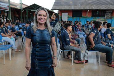 Diretora Cláudia apontou melhora gradativa na escola Ulysses Guimarães