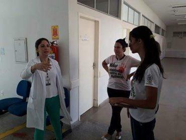 A visita foi acompanhada pela assistente social da Comissão-Intra Hospitalar de Doação de Órgãos e Tecidos e pela chefe do Núcleo de Serviço Social do Complexo Hospitalar