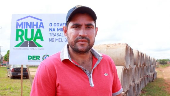 Samuel da Silva, presidente da Associação Beneficente dos Moradores e Amigos do Bairro Aeroclube