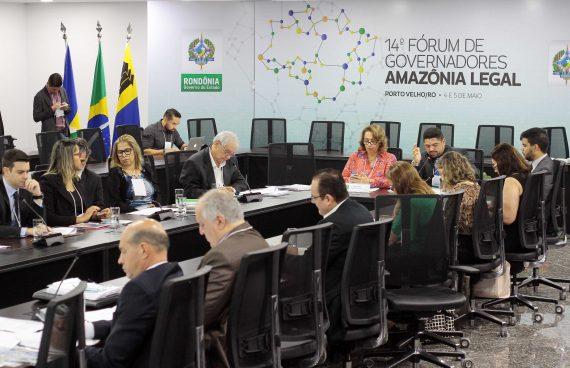 Procuradores e autoridades dos nove estados que compõem a Amazônia Legal trataram da criação do Consórcio Interestadual de Desenvolvimento Sustentável da Amazônia Legal