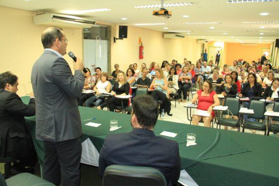 Vice-governador Daniel Pereira falou sobre o cumprimento de metas na educação