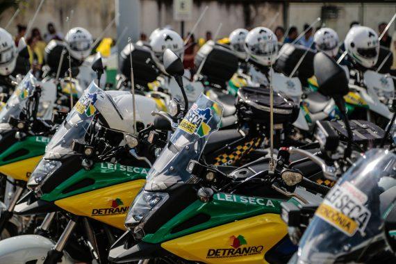 Motos serão utilizadas pela Polícia Militar.