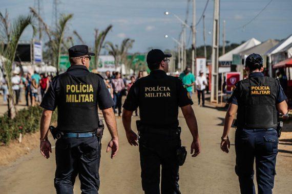 Público da RRS conta com a Polícia Militar