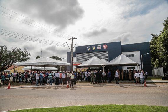 A Unisp de Ariquemes foi inaugurada com presença de parlamentares, populares e lideranças politicas da região