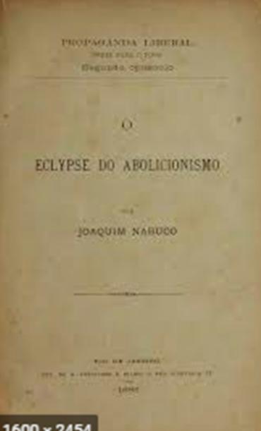 O ECLYPSE DO ABOLCISMO