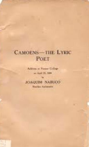 CAMOENS THE LYRIC POET