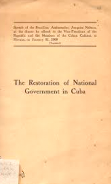 THE RESTORATION OF NATIONAL GOVERNMENT