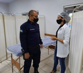 Diversos serviços e atendimentos em saúde serão oferecidos aos policiais e bombeiros militares