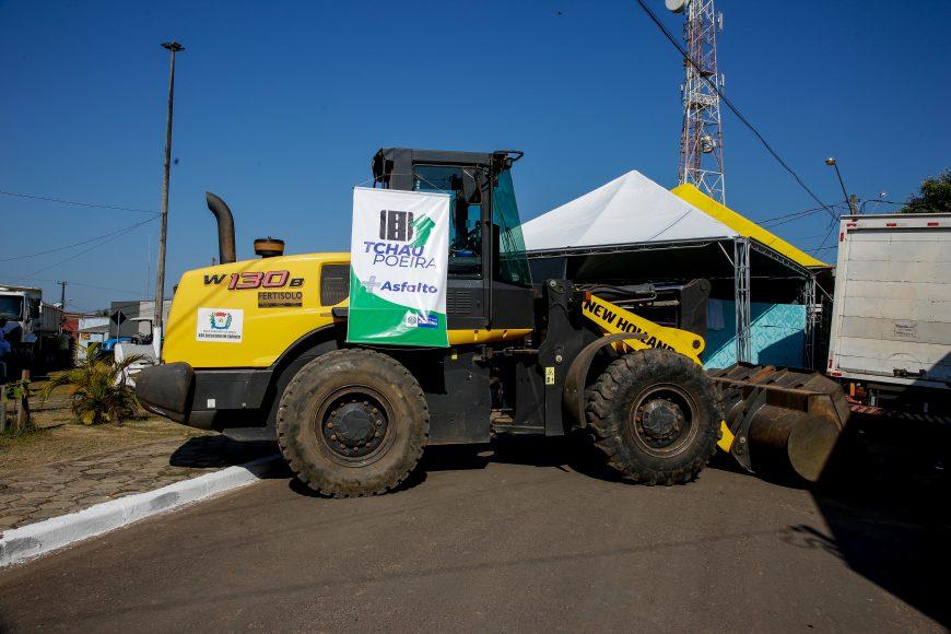 Em Novo Horizonte as obras são destinadas a pavimentação de 5 quilômetros de ruas urbanas e Em Castanheira será feita a pavimentação de um quilômetro de rua, e o recapeamento de outros 2 quilômetros