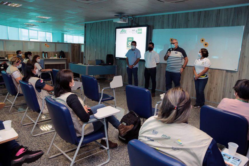 Emater Rondônia recebe visita técnica da comitiva do programa Agro do Amazonas